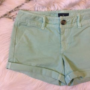 American Eagle Outfitters Pants - AE Mint Green Shorts