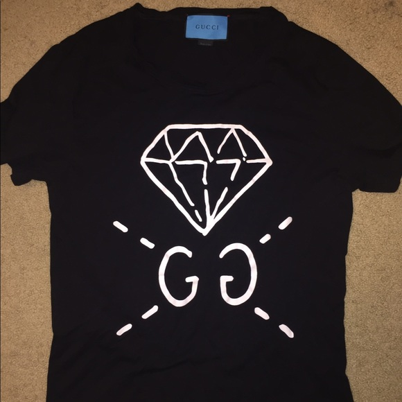 73fd836d294 Gucci Tops - Gucci Ghost diamond t shirt