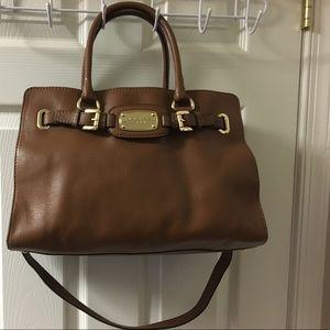 Michael Kors Satchel - Brown Leather