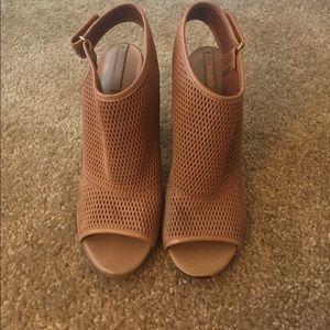 Aldo Shoes - ALDO mesh leather heels