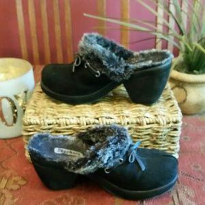 Skechers Shoes - Womens Skechers Slip On Mules Shoe