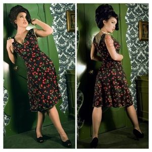 Pinup Couture Dresses & Skirts - Pinup Couture Black Cherry Dress