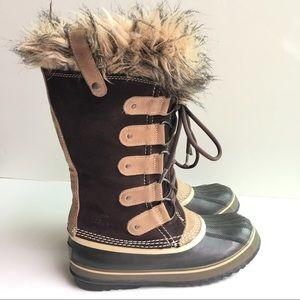 Sorel Shoes - Sorel Joan of Arctic Faux Fur Winter Snow Boots