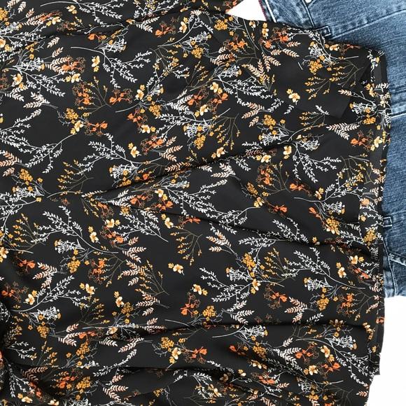 Daniel Rainn Floral Print Blouse 36