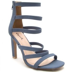 Qupid Shoes - ❗️ⓢⓐⓛⓔ❗️HURST HIGH HEEL STRAPPY SANDAL