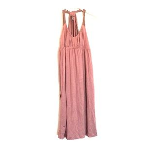 To The Max Dresses & Skirts - To The Max mauve pink halter tie draping dress XS