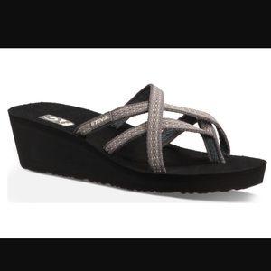 a7dc74ef713d Teva Shoes - NEW TEVA MUSH MANDALYN WEDGE OLA 2. Rumi Brown.