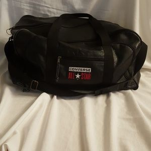 Converse Other - Converse All Star Duffel Bag Faux Leather Large Em