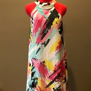Myths Dresses & Skirts - Colorful abstract full length dress
