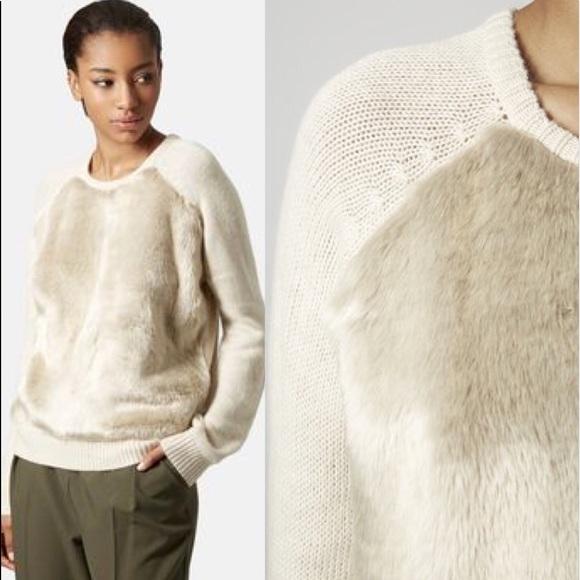 5bec46b5 Topshop Angora Hair Faux Fur Crew Sweater. M_592b07e46a58309e5e00c3d3