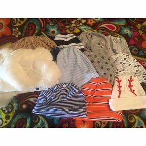 Other - 11 Baby Boy Hat Bundle