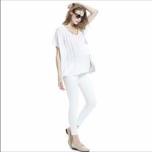 7c29959731e5eb Hatch Pants | Nwt Maternity White Denim Legging | Poshmark