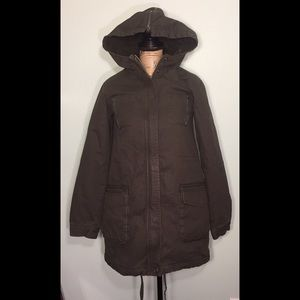 Rip Curl Jackets & Blazers - Rip Curl Military Style Fleece Lined Hooded Jacket
