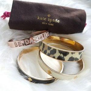 kate spade Jewelry - Kate Spade bangle bundle