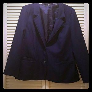 sears Jackets & Blazers - Beautiful navy blue blazer