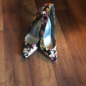 143 Girl Shoes - Floral Heels