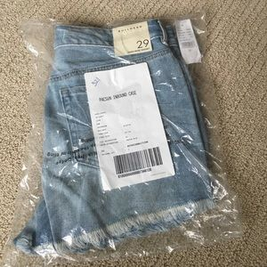 PacSun Pants - PacSun high rise Jean shorts