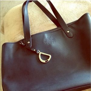 Ralph Lauren Handbags - 💙100%authentic Ralph Lauren navy tote bag💙
