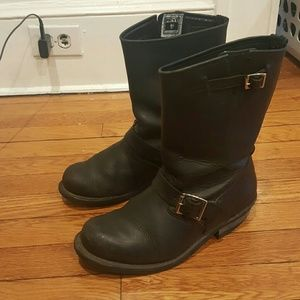 FRYE ENGINEER BOOT SIZE 8.5 womens boots
