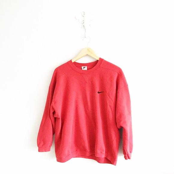 Vintage Nike Red Crewneck Sweatshirt