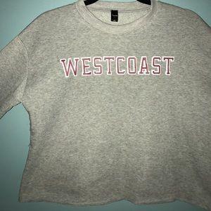 West Coast cropped sweater