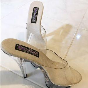 Funtasma Shoes - Funtasma clear pumps 9