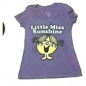 Little Miss Tops - Little Miss Sunshine t shirt!