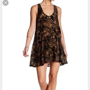 Free people burnout velvet dress
