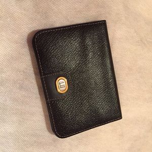 Dunhill Other - Dunhill Card Case / Wallet, Leather