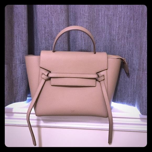 dec927464d Celine Handbags - Celine inspired mirror belt bag