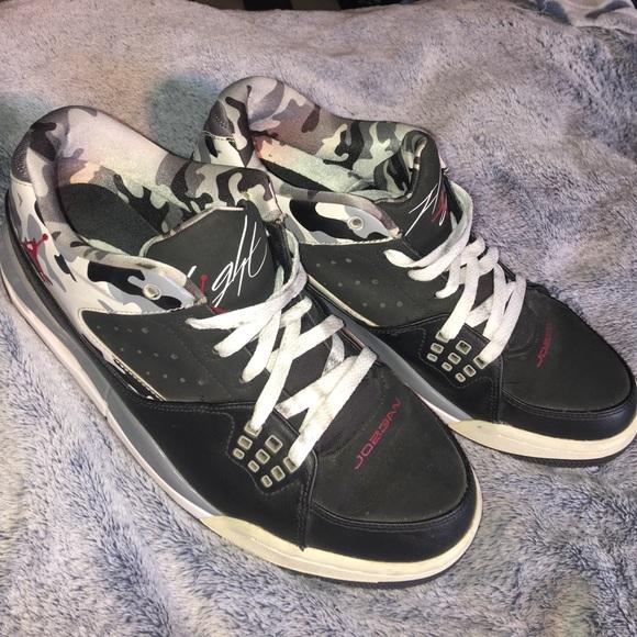 innovative design 29484 8fa96 Jordan Other - Jordan Flight SC-1 Shoes 9.5 Camo Black 599929-020