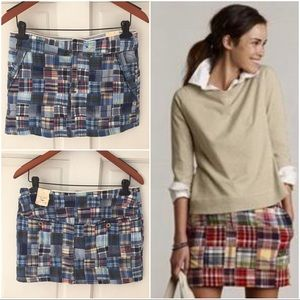 American Eagle Outfitters Dresses & Skirts - American Eagle Outfitters Blue Madras Mini Size 6