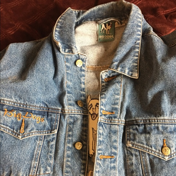 73 off the big dogs other big dogs vintage denim jean for Do true religion shirts run small or big