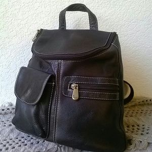 Colombian Leather 90'S Backpack