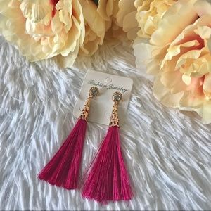 Jewelry - ✨New! Tassel and Sparkle (Pink Edition)⭐️5⭐️Rated