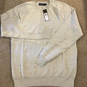 Polo by Ralph Lauren Other - 🆕Polo Ralph Lauren Crewneck Sweater,DoveGrey,NWT!