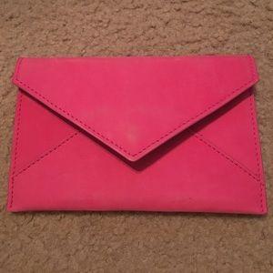Hot pink GiGi New York envelope