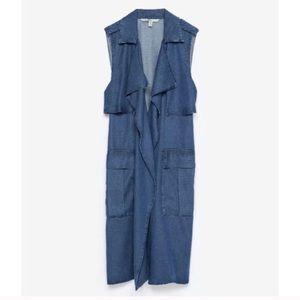 Zara Jackets & Blazers - 🆕 Zara Long Vest