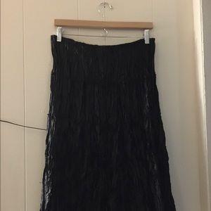 Allison Taylor Dresses & Skirts - Allison Taylor Crinkle Style Skirt