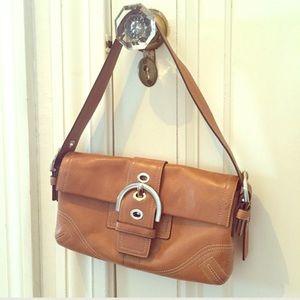 Coach Handbags - Coach Soho Burnished Leather Shoulder Bag