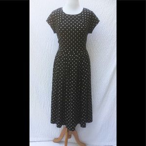 eshakti Dresses & Skirts - New Eshakti Polka Dot Fit Flare Midi Dress 20W