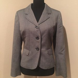 LOFT Jackets & Blazers - Ann Taylor LOFT black and gray jacket