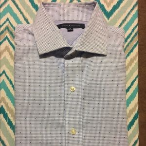 Tommy Hilfiger Other - Tommy Hilfiger Blue & White Button Up