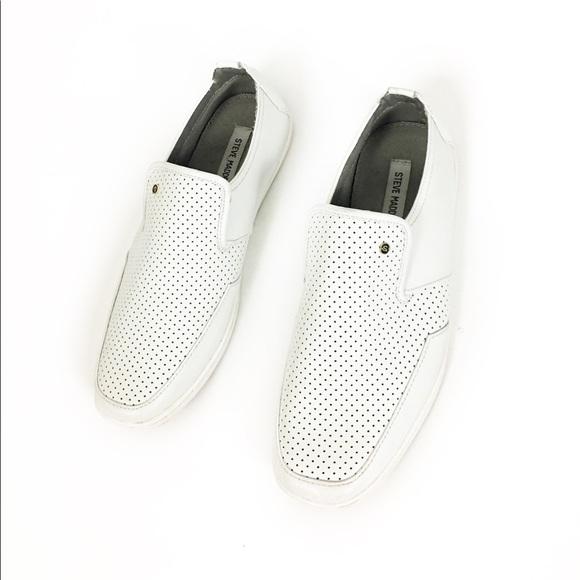 steve madden white dress shoes
