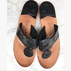Jack Rogers Shoes - Jack Rogers Black Sandals