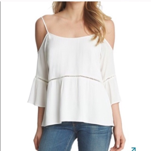 c03027e3f 1. State Tops | Final Price 1state Coldshoulder Top Nwt Med | Poshmark