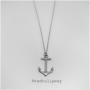 🌹SOLD🌹Auth. Tiffany & Co. Anchor Pendant
