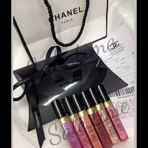 CHANEL Other - Chanel VIP gift mini lipgloss set new