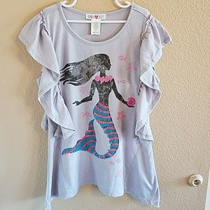 Kandy Kiss Other - Kandy Kiss (Macy's) NWT Girls Mermaid Top size L