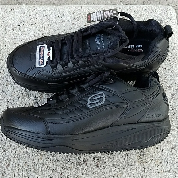 skechers shape ups work men's